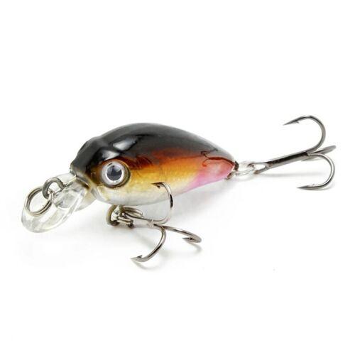 Esca da pesca wobbler MINNOW SWIMBAIT Tackle 45mm 4.1g LUCCIO TROTA Topwater Esca
