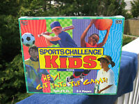 Sports Challenge For Kids Game - University Games 1998 & Factory Sealed