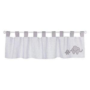 Image Is Loading Window Valance Curtain Safari Chevron Black White Elephant
