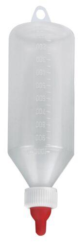 completamente montado corderos lammflasche con corchete 1 litros Lämmerflasche