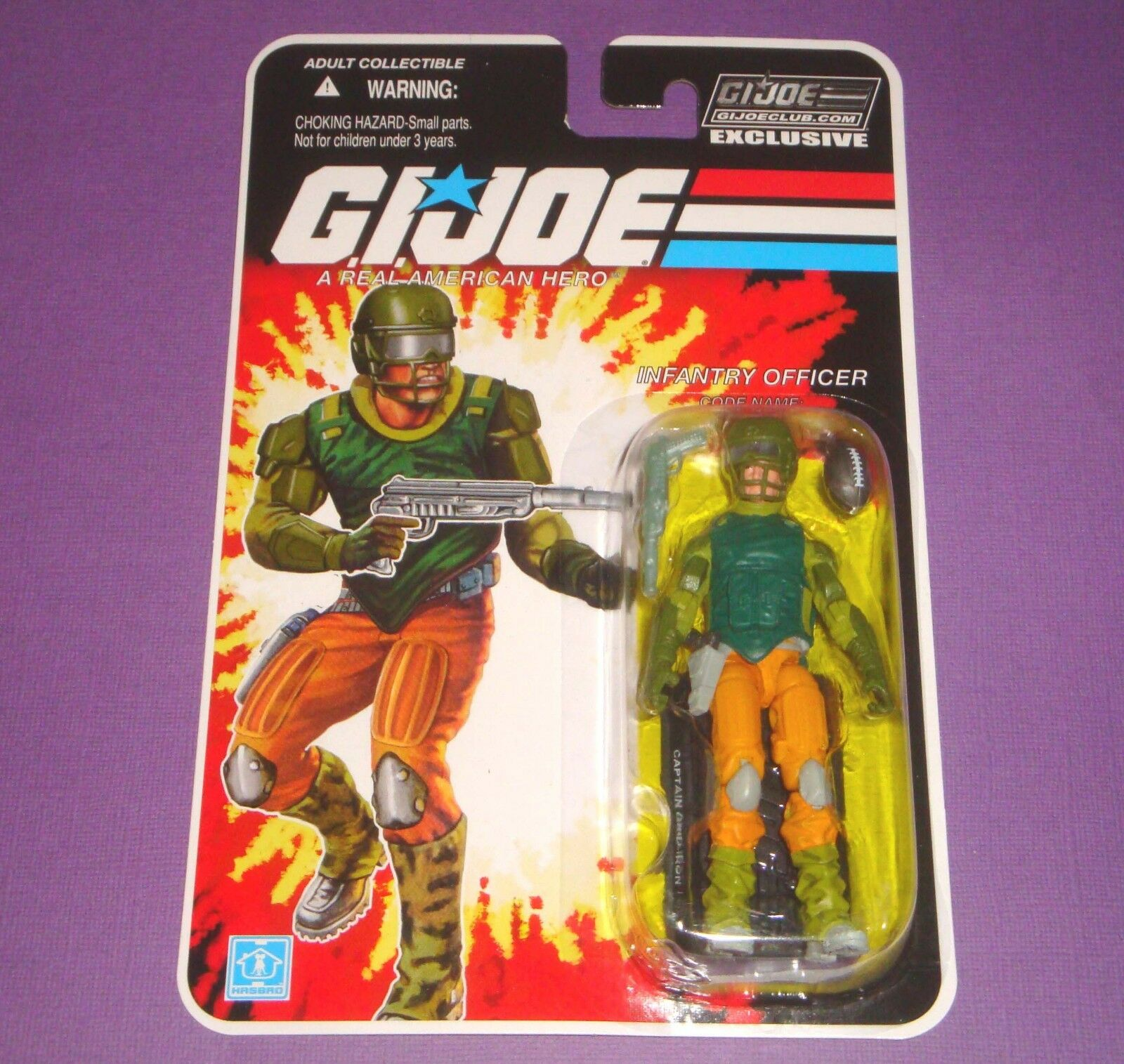 Captain Grid Iron - FSS 8.0 - Sealed New MOC - GIJOE Figure
