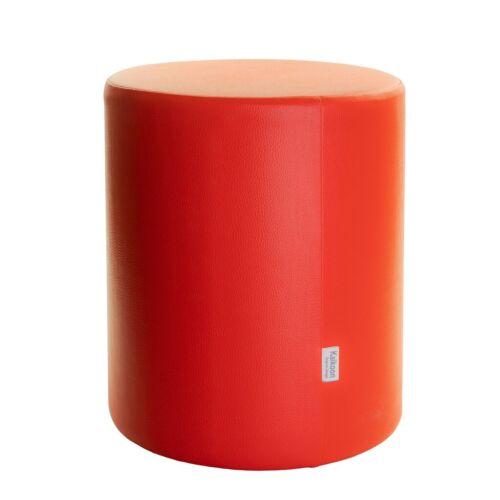 Tabouret siège cube tabouret cube Cubes foire rouge Ø 34 cm x 44 cm kaikoon NEUF