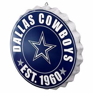 dallas cowboys bottle cap sign est 1960 room bar decor new 13 5
