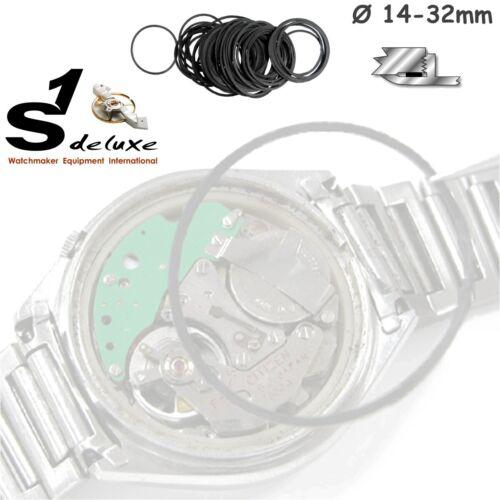 100 dichungen pour montres plat exécution 18-32 mm