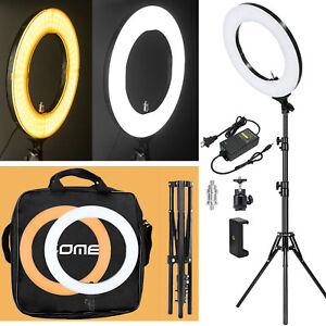 Anillo-de-luz-LED-18-034-Regulable-Con-Soporte-Kit-De-Iluminacion-Telefono-Con-Camara-Foto-Video