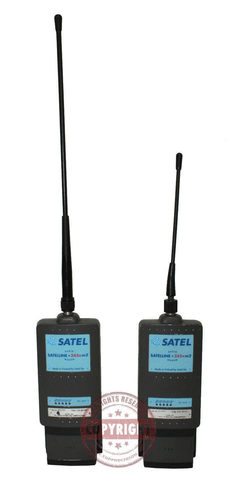 SATEL SATELLINE-2ASxm2 ROBOTIC MODEM RADIO,TOPCON GTS, GPT TOTAL STATION