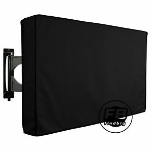 Outdoor-Black-LCD-LED-TV-Cover-Waterproof-Television-Protector-30-034-65-034