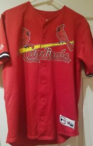buy online 938a2 01fdb Details about Vintage Mark McGwire Majestic St Louis Cardinals Jersey  AUTHENTIC!