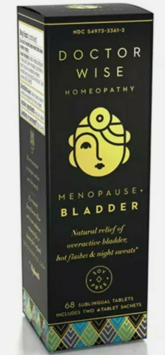 Menopause Natural Homeopathic Relief of Overactive Bladder, Hot Flashes and N…