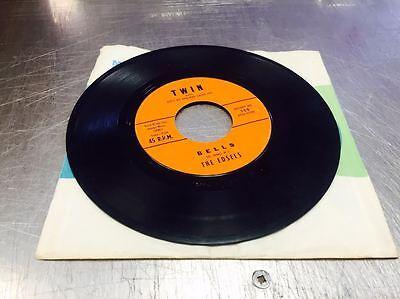 EDSELS Bells/Rama Lama Ding Dong vinyl 45 RPM Orange Label ...