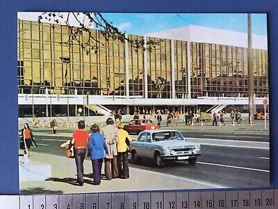1 Ddr Postkarte Berlin Gdr Postcard 1976 Palast Der Republik Wolga Menschen