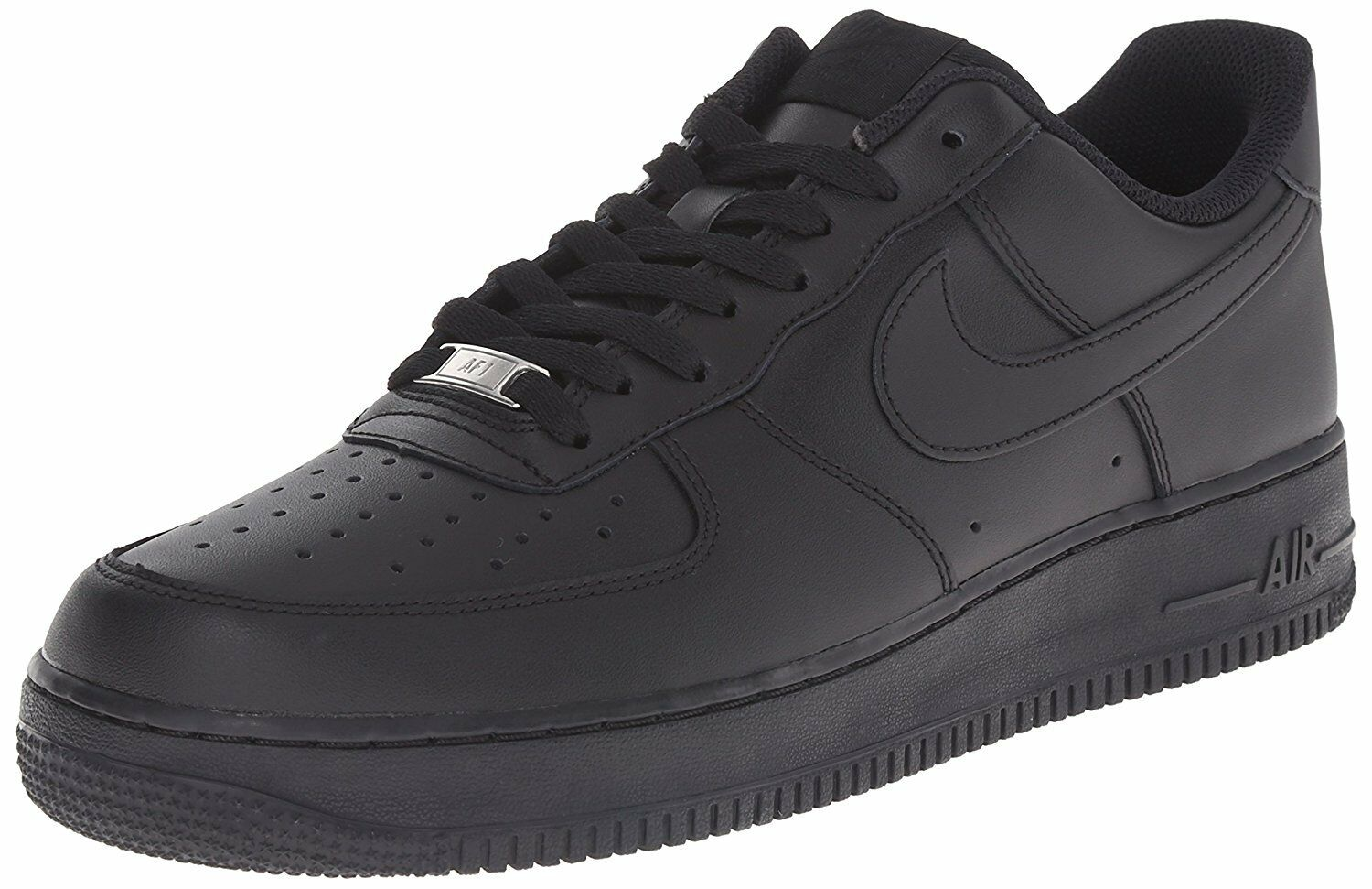 Nike Uomo air force 1 basket scarpa 315122-001 nero nero