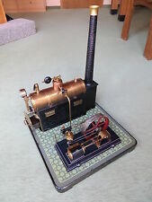 Bing, herrliche Dampfmaschine, um 1920, Glanzstück aus den zwanziger Jahren