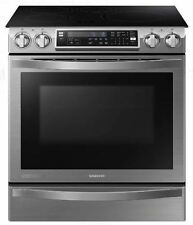 SAMSUNG CHEF Collection 30 Inch Slide-In Induction Range - NE58H9970WS