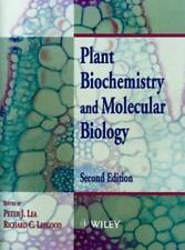 Plant Biochemistry and Molecular Biology by Peter J. Lea (1999, Paperback,...
