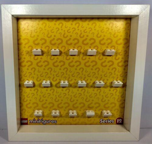 Display Frame White Lego Series 12  Minifigure