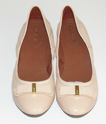 COLE HAAN~NWOB~$160.00~PATENT LEATHER CAP TOE *ELSIE BALLET II* FLAT SHOES~8.5