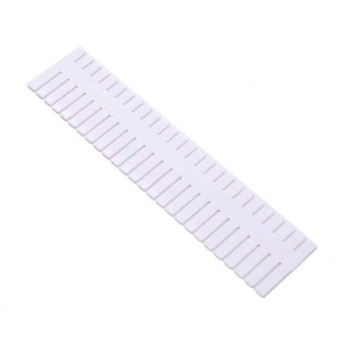 4PCS Drawer Organizer Grid DIY Plastic Adjustable Storage Dividers 2 sizes