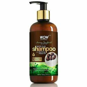 WOW Skin Science White Clay with Rainforest Pataua Oil Shampoo 300 ml
