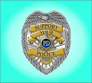 Support Your Police Sticker Decal Free Shipping Ebay