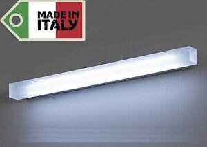 Lampada applique a led design moderno specchio muro stile luce w