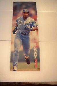 Vintage Sport Magazine Bo Jackson Jose Canseco 2 Sided Poster Kc Royals A S Ebay