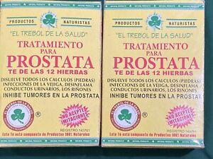 te de hierbas para la próstata