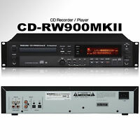 Tascam Cd-rw900mkii Professional Rackmount Recorder / Player $15 Instant Off Dj