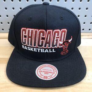 Chicago-Bulls-Windy-City-NBA-Basketball-Hat-Mitchell-amp-Ness-Snap-Back-Cap