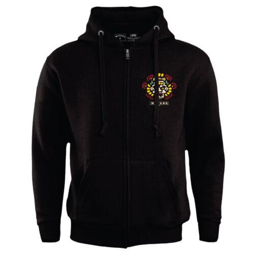 Mayans Sons Of Anarchy SOA Kutte Mens Zipped Biker Hoodie Official Merchandise