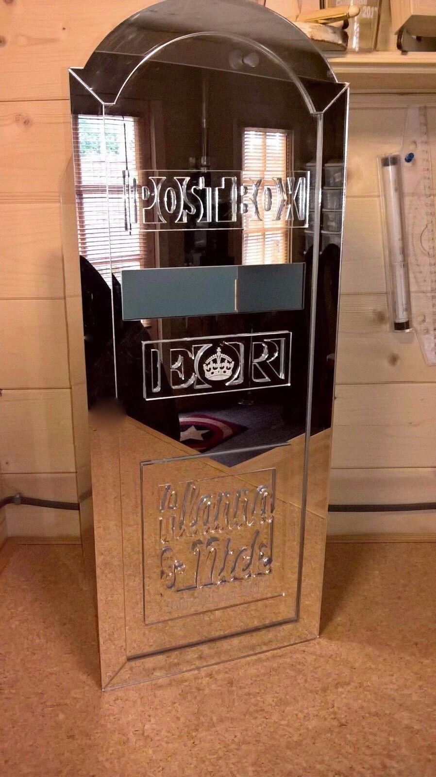 Grand miroir Wedding Post Box, Personnalisé Avec Tout Nom Et Date