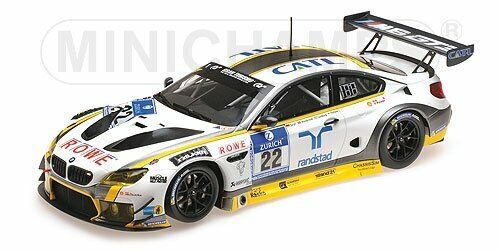 BMW M6 GT3 Rowe Racing  22 24h Nürburgring 2016 - 1 18 - Minichamps
