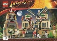 Lego Indiana Jones 7627 Temple Of The Crystal Skull Sealed