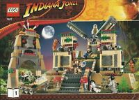 Lego Indiana Jones 7627 Temple Of The Crystal Skull Sealed