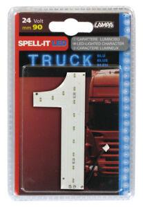 Spell-It Led 90 mm 24V Bianco E