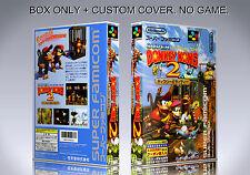 DONKEY KONG COUNTRY 2. JAPAN VERSION. Box/Case. Super Nintendo. (NO GAME).