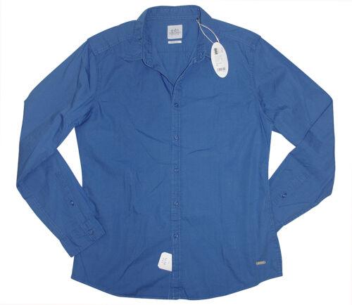 M blau Langarmhemd Freizeithemd neu EDC by ESPRIT Herren Hemd Gr