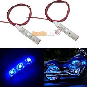 smd blue led strip lights for motorcycle under glow accent lighting. Black Bedroom Furniture Sets. Home Design Ideas