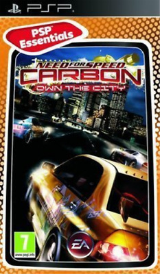 Psp Need For Speed Carbon Own The City Essentials Psp Uk Import Game New 5030930102630 Ebay