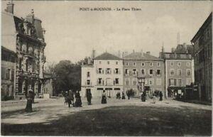 CPA PONT-a-MOUSSON La Place Thiérs (805430)