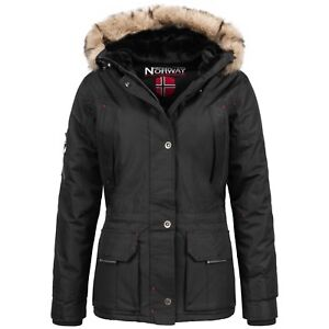 Geographical-Norway-Amadel-Lady-Winter-Jacke-Parka-Outdoor-Damen-Winterjacke