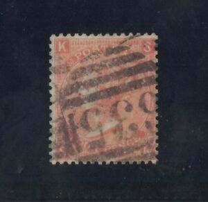 1865-67-GB-Queen-Victoria-SG-94-Pl-10-fine-used