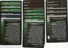 Set of 17 NoR Rule Cards