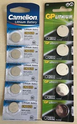 2x Camelion Lithium CR2430 3V im Blister