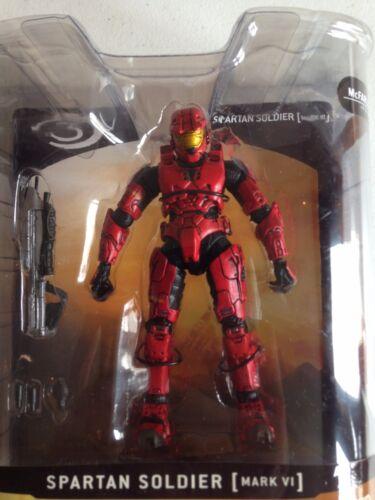 Halo 3 Series 1 Red Spartan Soldat Mark VI