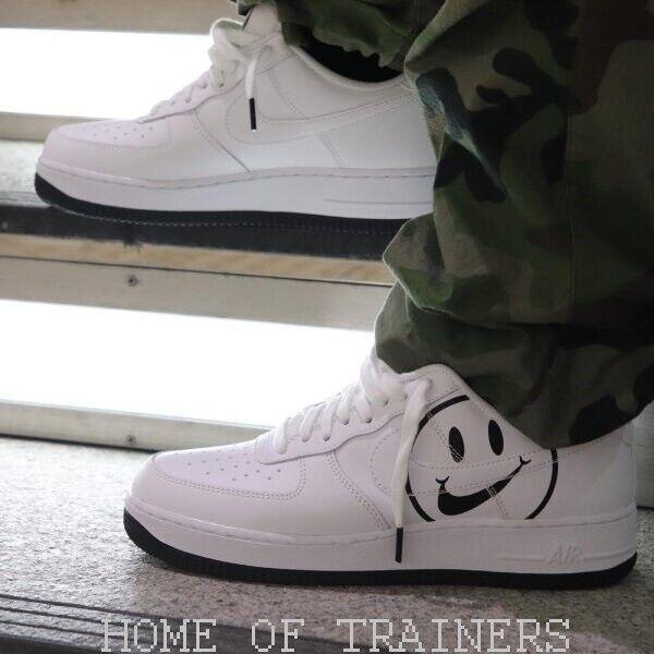 Nike Air Force 1 Lv8 2 whiteos y black Niño Niña Zapatillas en Todas las sizes
