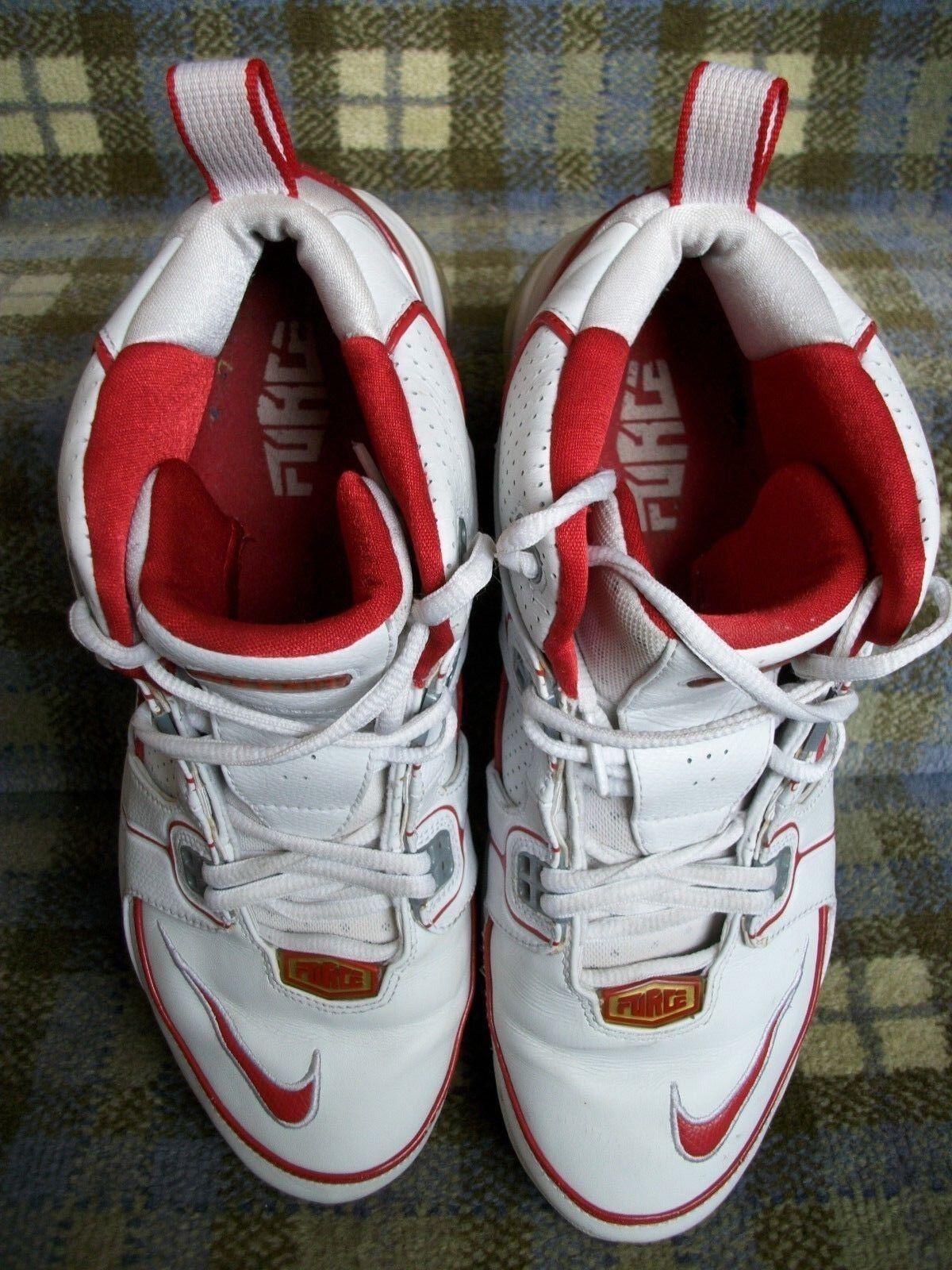 Vintage nike air max totale forza scarpe da basket basket basket   10,5 | Esecuzione squisita  | Uomini/Donna Scarpa  66f91b