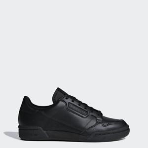 Scarpe Ragazzi Adidas Continental 80 F97500 nero Total White Sneakers da donna