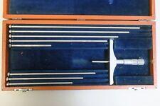 Brown Amp Sharpe 608 Depth Micrometer 0 8 Range 001 Graduation
