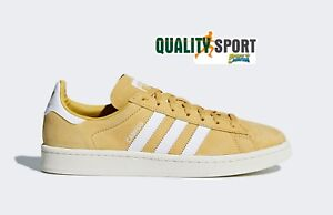 Détails sur Adidas Campus Moutarde Chaussures Homme Sportif Baskets Cq2082
